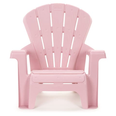 "Little Tikes Pink Garden Chair - 18.50""L x 14.50''W x 18.00''H"