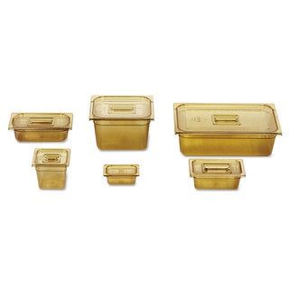 Rubbermaid Commercial Amber Hot Food Pan