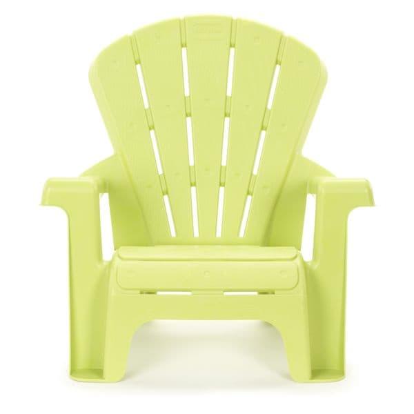 "Little Tikes Green Garden Chair - 18.50""L x 14.50''W x 18.00''H"
