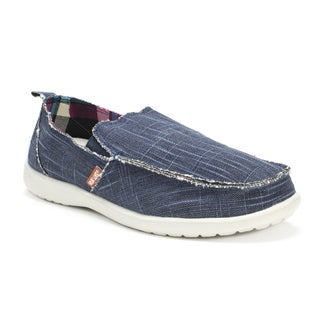 Muk Luks Men's Blue Andy Shoes