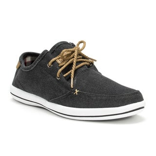 Muk Luks Men's Black 'Josh' Shoes
