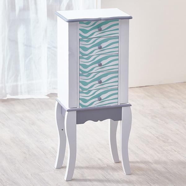 Shop Teamson Kids - Fashion Prints Jewelry Armoire - Zebra ...