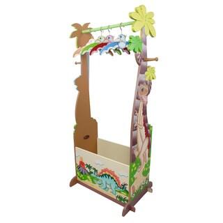 Fantasy Fields - Dinosaur Kingdom Dress Up Valet Rack w/ 4 Hangers