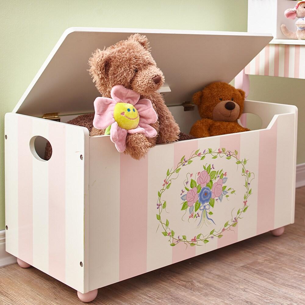 Teamson Fantasy Fields - Bouquet Toy Chest, Pink