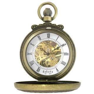 Dakota Vintage Mechanical Pocket Watch