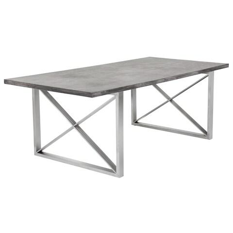 Sunpan 'MIXT' Catalan Dining Table - Concrete