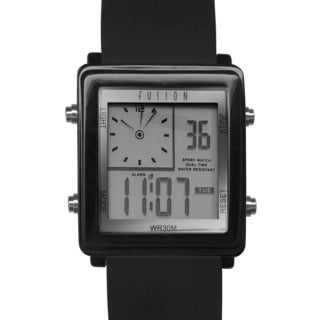 Dakota Fusion Men's Tomorrow's Digital Dual Time Watch