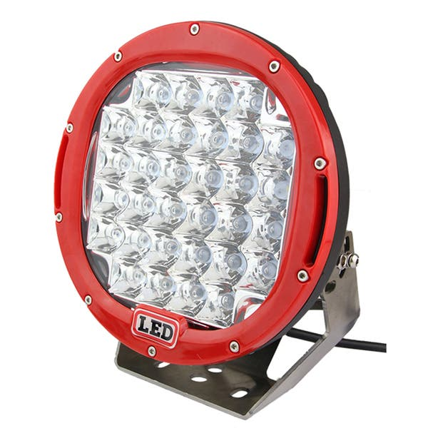 Shop 9 Inch 96w Led Red Round Offroad Driving Light Free