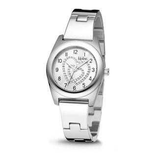 Kipling Women's Stainless Steel Quartz Watch - Silver