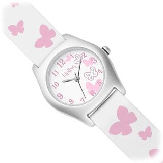 Kipling Pink Butterfly Girl's Quartz Watch