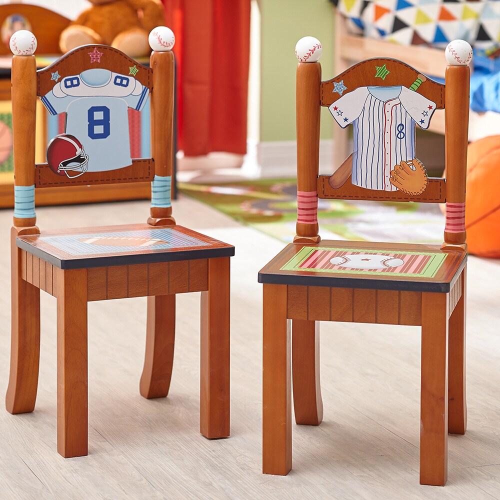 Teamson Fantasy Fields - Lil' Sports Fan Set of 2 Chairs,...