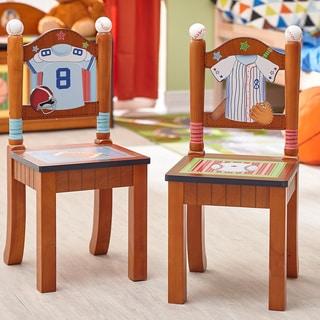 Fantasy Fields - Lil' Sports Fan Set of 2 Chairs