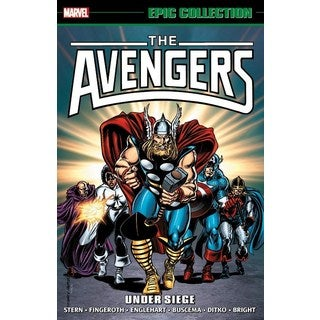 Epic Collection  The Avengers 16: Under Siege (Paperback)