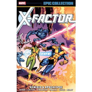 Epic Collection X-Factor 1: Genesis & Apocalypse (Paperback)