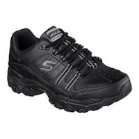 Men's Skechers After Burn Memory Fit Strike On Sneaker Black