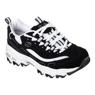Women's Skechers D'Lites Sneaker Biggest Fan/Black/White