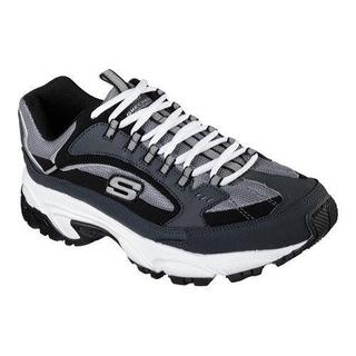 Men's Skechers Stamina Cutback Training Shoe Navy/Black (More options available)