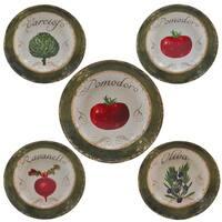 Certified International  Pomodoro 5-piece Ceramic Pasta Set