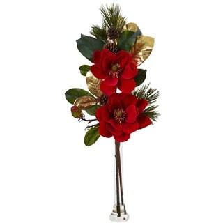 Holiday Magnolia Arrangement