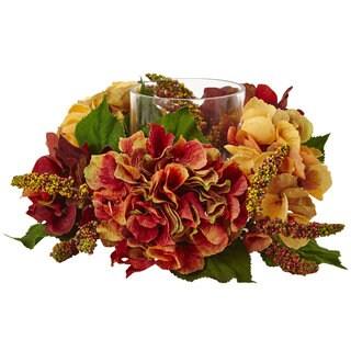 Autumn Hydrangea Berry Candelabrum