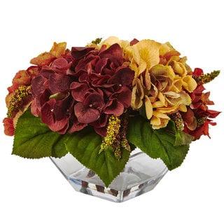 Autumn Hydrangea Berry w/Vase
