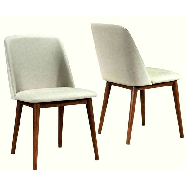 Soho Mid Century Modern Upholstered Dining Chairs Set Of 2