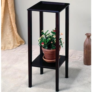 Heritage Sleek Design Square Plant Stand/ Side Table