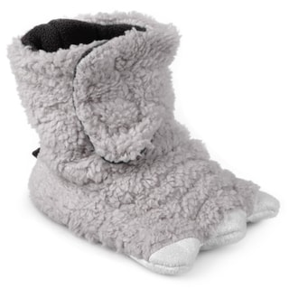Journee Kid's Monster Foot Bootie Slippers