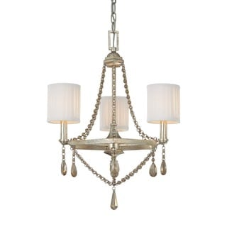 Capital Lighting Fifth Avenue Collection 3-light Winter Gold Chandelier