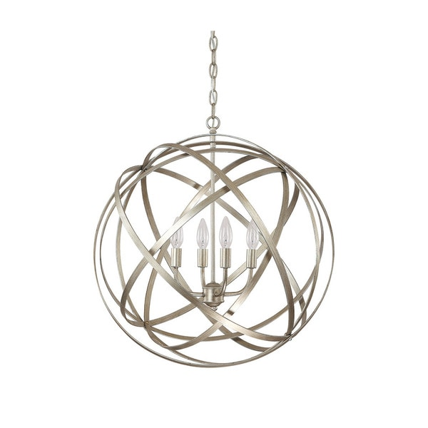 Shop Capital Lighting Axis Collection 4 Light Winter Gold