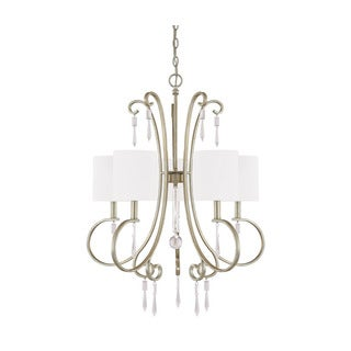 Capital Lighting Simone Collection 5-light Winter Gold Chandelier - N/A