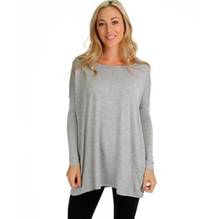 Lyss Loo Women's Oversize Tunic Top