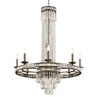 Crystorama Mercer Collection 11-light English Bronze Chandelier