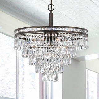 Crystorama Mercer Collection 6-light English Bronze Chandelier