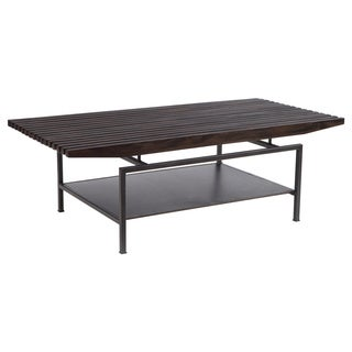 Ink and Ivy Slat Coffee Table
