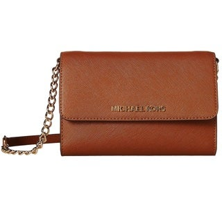 Michael Kors Jet Set Travel Large Phone Crossbody Handbag