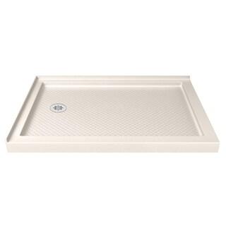 DreamLine SlimLine 36 x 48-inch Biscuit Double Threshold Shower Base