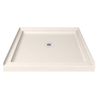 DreamLine SlimLine 36 x 36-inch Biscuit Single Threshold Shower Base