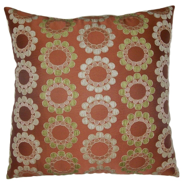 Deco Delia Decorative 20-inch Throw Pillow