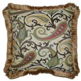 Landry Square Decorative 20-inch Throw Pillow
