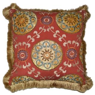 Karmana Square Decorative 20-inch Throw Pillow