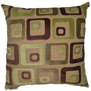 Cavalli Square Decorative 20-inch Throw Pillow