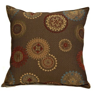 Gears Decorative 20-inch Throw Pillow