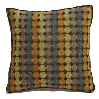 Discus Box Square Decorative 18-inch Throw Pillow