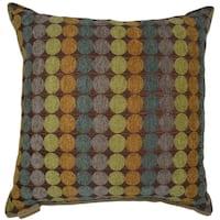 Discus Square Decorative 20-inch Throw Pillow