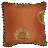 Sunflower Decorative 18-inch Throw Pillow
