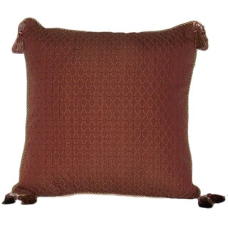 Riviera Cord and Tassel 20-inch Throw Pillow