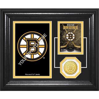 "Boston Bruins""Fan Memories"" Bronze Coin Desktop Photo Mint"