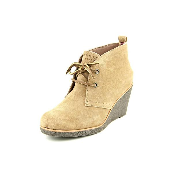 4b40510ced6 Shop Sperry Top Sider Women s  Harlow  Regular Suede Boots - Free ...