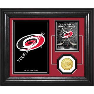 "Carolina Hurricanes ""Fan Memories"" Bronze Coin Desktop Photo Mint"